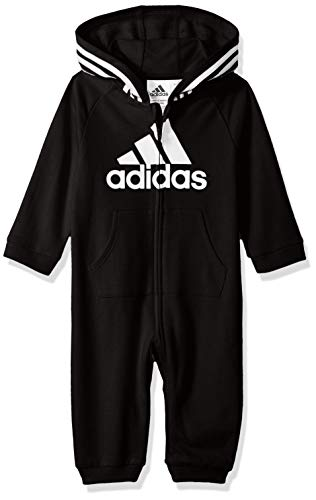 adidas Baby Girls Coverall, Black ark, 6 Months