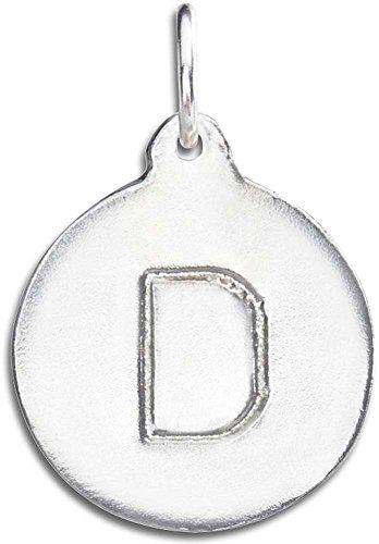 "Helen Ficalora ""D Alphabet Charm Sterling Silver"