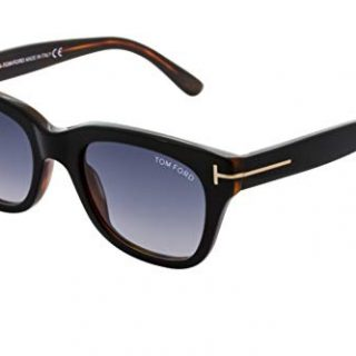 Tom Ford SNOWDON 05B Black/Other Sunglasses Grey Gradient