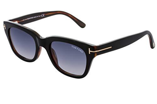 Tom Ford SNOWDON 05B Black/Other Sunglasses Grey Gradient