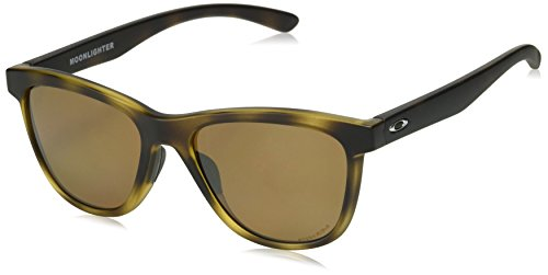 Oakley Women's Moonlighter Round Sunglasses, Matte Tortoise