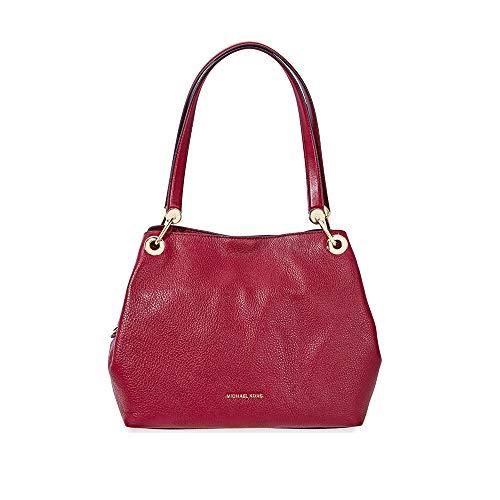 Michael Kors Raven Ladies Large Leather Shoulder Bag