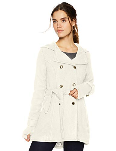 Jessica Simpson Women's Double Breasted Wool Fashion Coat