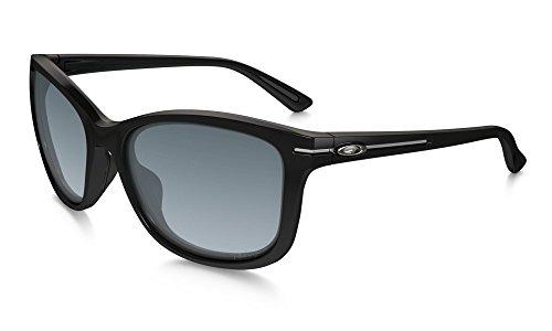 Oakley Women's Drop-In Polarized Rectangular Sunglasses