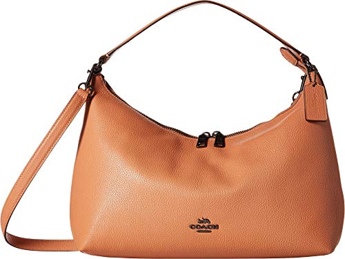 COACH Women's Pebbled Leather East/West Celeste Convertible