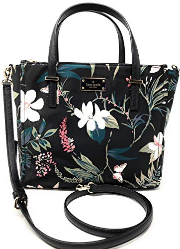 Kate Spade New York Wilson Road Botanical Alyse Satchel Crossbody Bag