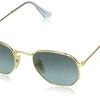 Ray-Ban Hexagonal Flat Lenses Sunglasses Rectangular