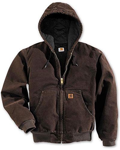Carhartt Men's Sandstone Active Jacket,Dark Brown