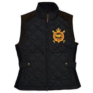 Polo Ralph Lauren Womens Equestrian Puffer Vest