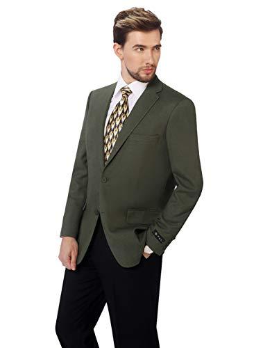 P&L Men's Premium Classic Fit Sport Coat Suit Jacket