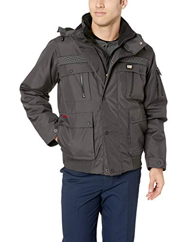 Caterpillar Men's Heavy Insulated Bomber Jacket