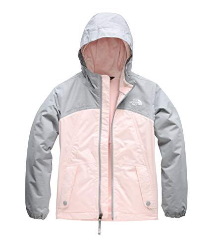 The North Face Girls' Warm Storm Jacket, Pink Salt