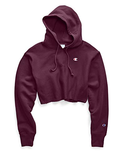 Champion Women's Reverse Weave Cropped Cut Off Hood