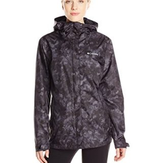 Columbia Women's Arcadia Print Jacket, Black Camo