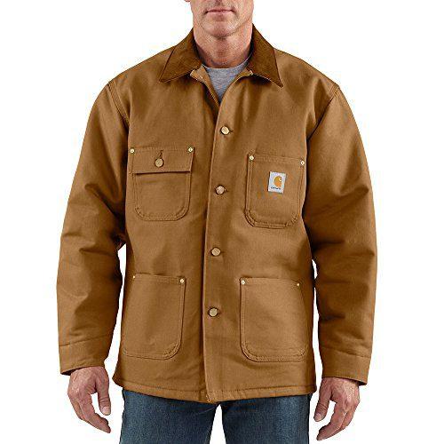 Carhartt Men's Duck Chore Coat Blanket Lined