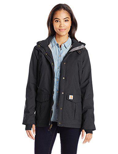 Carhartt Women's Shoreline Jacket, Black, Medium