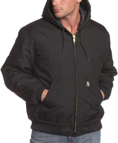 Carhartt Men's Big & Tall Arctic Quilt Lined Yukon Active Jacket,Black