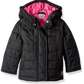 Carhartt Girls' Toddler Amoret Quilted Jacket