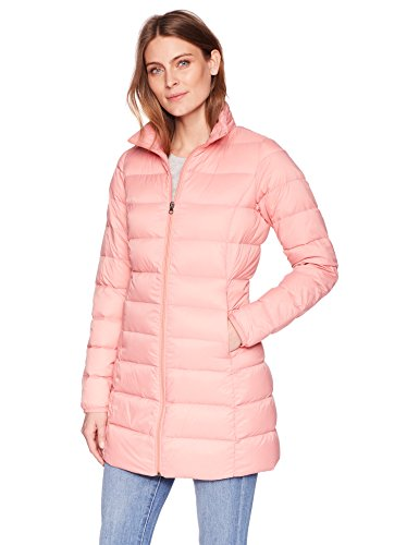 Amazon Essentials Women's Lightweight Water-Resistant Packable Down Coat