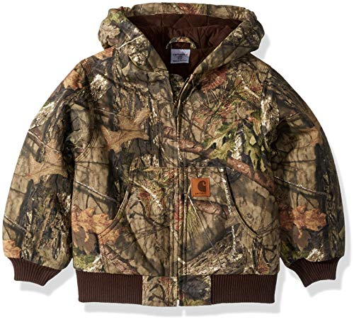 Carhartt Boys' Big Mossy Oak Camo Active Jacket