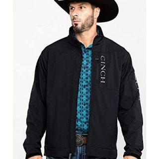 Cinch Men's Concealed Carry Bonded Jacket Black