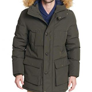 Big & Tall Arctic Cloth Full Length Quilted Snorkel Parka