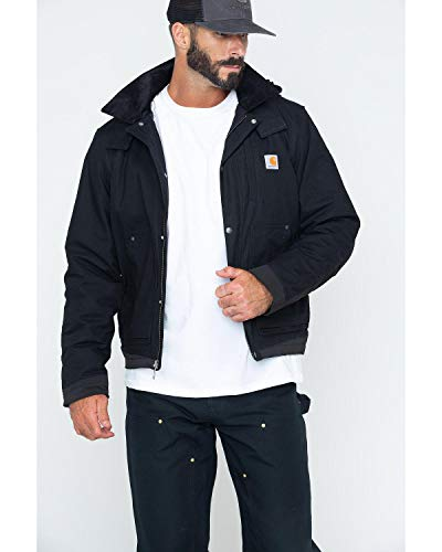 Carhartt Men's Full Swing Steel Jacket, Black
