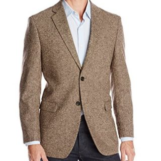 U.S. Polo Assn. Men's Wool Donegal Sport Coat, Brown