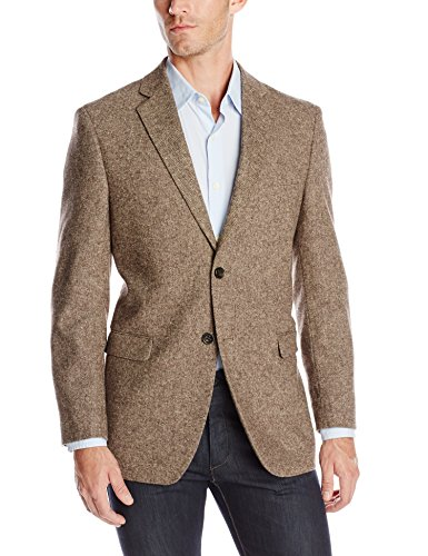 U.S. Polo Assn. Men's Wool Donegal Sport Coat, Brown