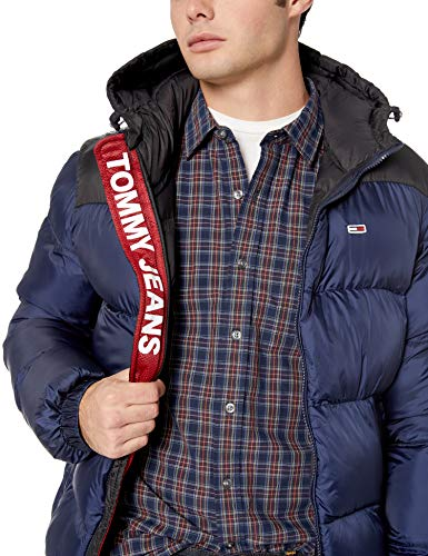 Tommy Jeans Men's Puffer Jacket with Down Fill Classics ...