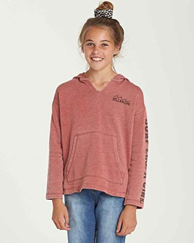 Billabong Girls' Girls' Sunday Love Hoodie Red