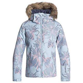ROXY Little American Pie Snow Jacket, Powder Blue