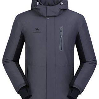 CAMEL CROWN Ski Jacket Men Waterproof Warm Cotton Winter Snow