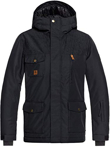 QUIKSILVER Boys' Big RAFT Youth 10K Snow Jacket