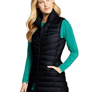 Lands' End Women's Ultralight Packable Down Vest