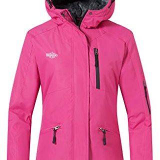 Wantdo Women's Mountain Jacket Wind Block Winter Windbreaker Hoodie