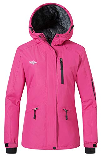 Wantdo Women's Mountain Jacket Wind Block Winter Windbreaker Hoodie