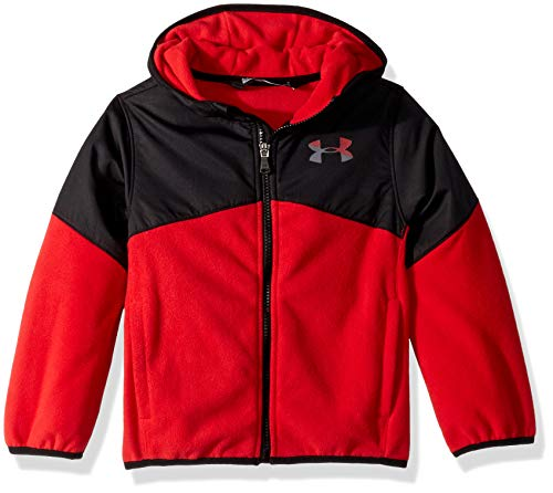 Under Armour Boys' Big Print North Rim Micro Fleece Hoody