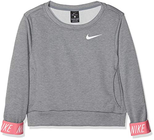 Nike Big Girls Graphic-Cuff Pullover Sweatshir