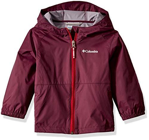 Columbia Girls' Big Switchback II Jacket, Purple Dahlia