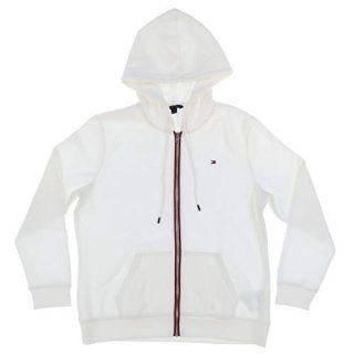 Tommy Hilfiger Womens Full Zip Fleece Lined Hoodie