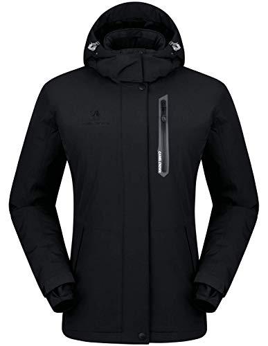 CAMEL CROWN Women's Mountain Snow Waterproof Ski Jacket