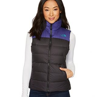 The North Face Women's Nuptse Vest, Black/Bright Navy