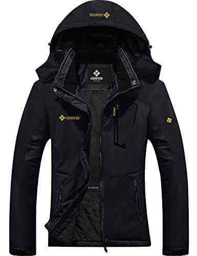 GEMYSE Women's Mountain Waterproof Ski Snow Jacket Winter