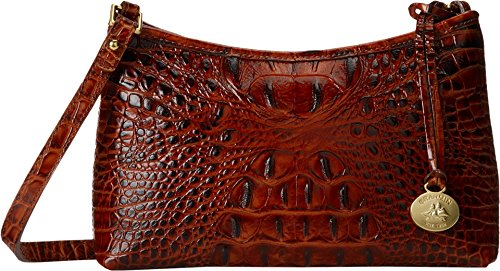 Brahmin Anytime Mini Shoulder Bag, Pecan, One Size