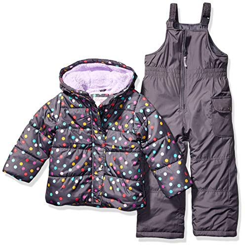 Carter's Girls' Little Heavyweight 2-Piece Skisuit Snowsuit
