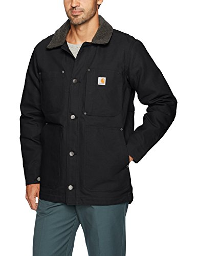 Carhartt Men's Full Swing Chore Coat, Black