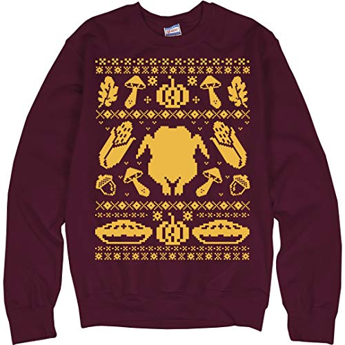 an Ugly Thanksgiving: Unisex Ultimate Crewneck Sweatshirt