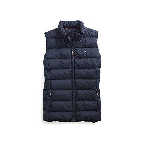Tommy Hilfiger Women's Adaptive Puffer Vest with Magnetic Zipper