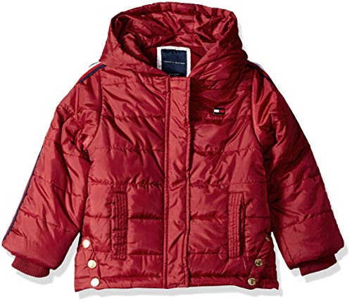 Tommy Hilfiger Girls' Toddler Quilted Puffer Jacket